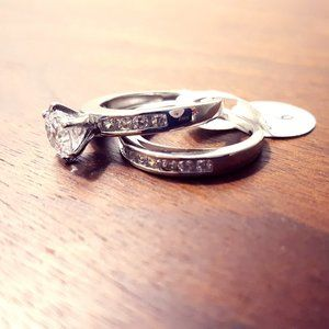 Sterling Silver 2-piece ring collection